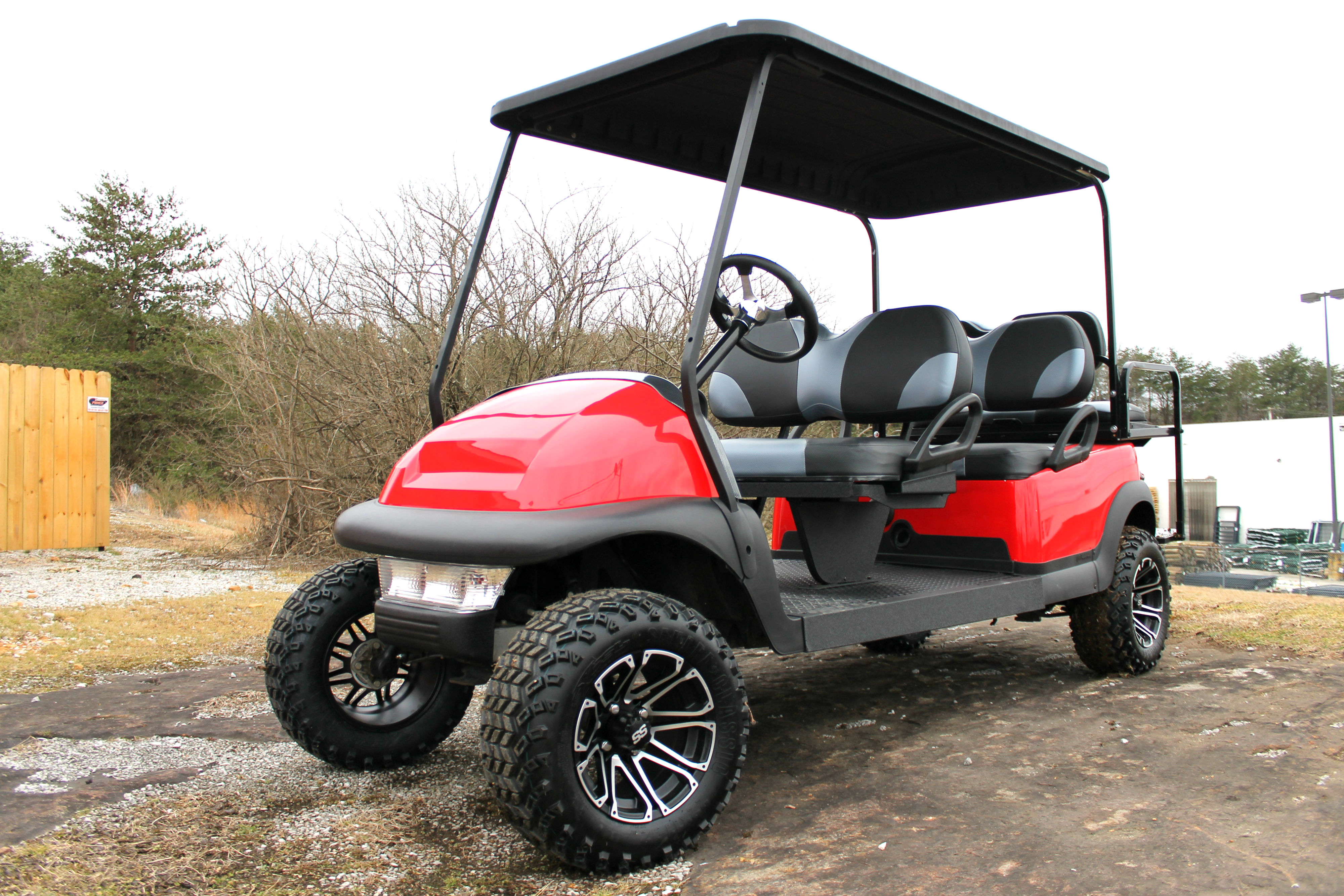 Fun for the Whole Family – 6 Passenger Club Car – McCulley s Golf Cars