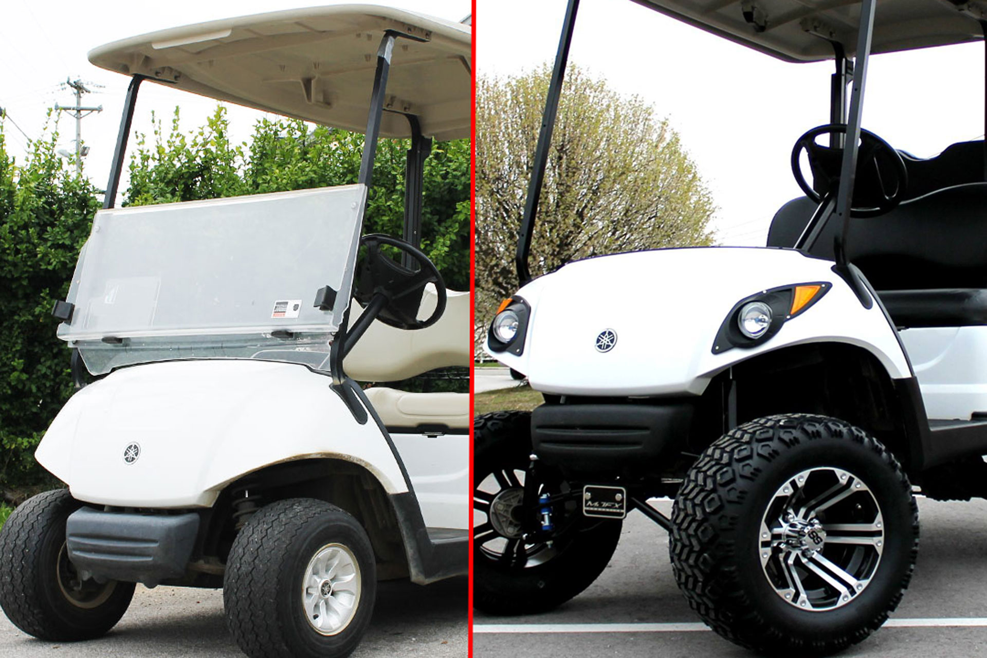 Which Lift Kit Is Best For Your Golf Cart Mcculley S Golf Cars