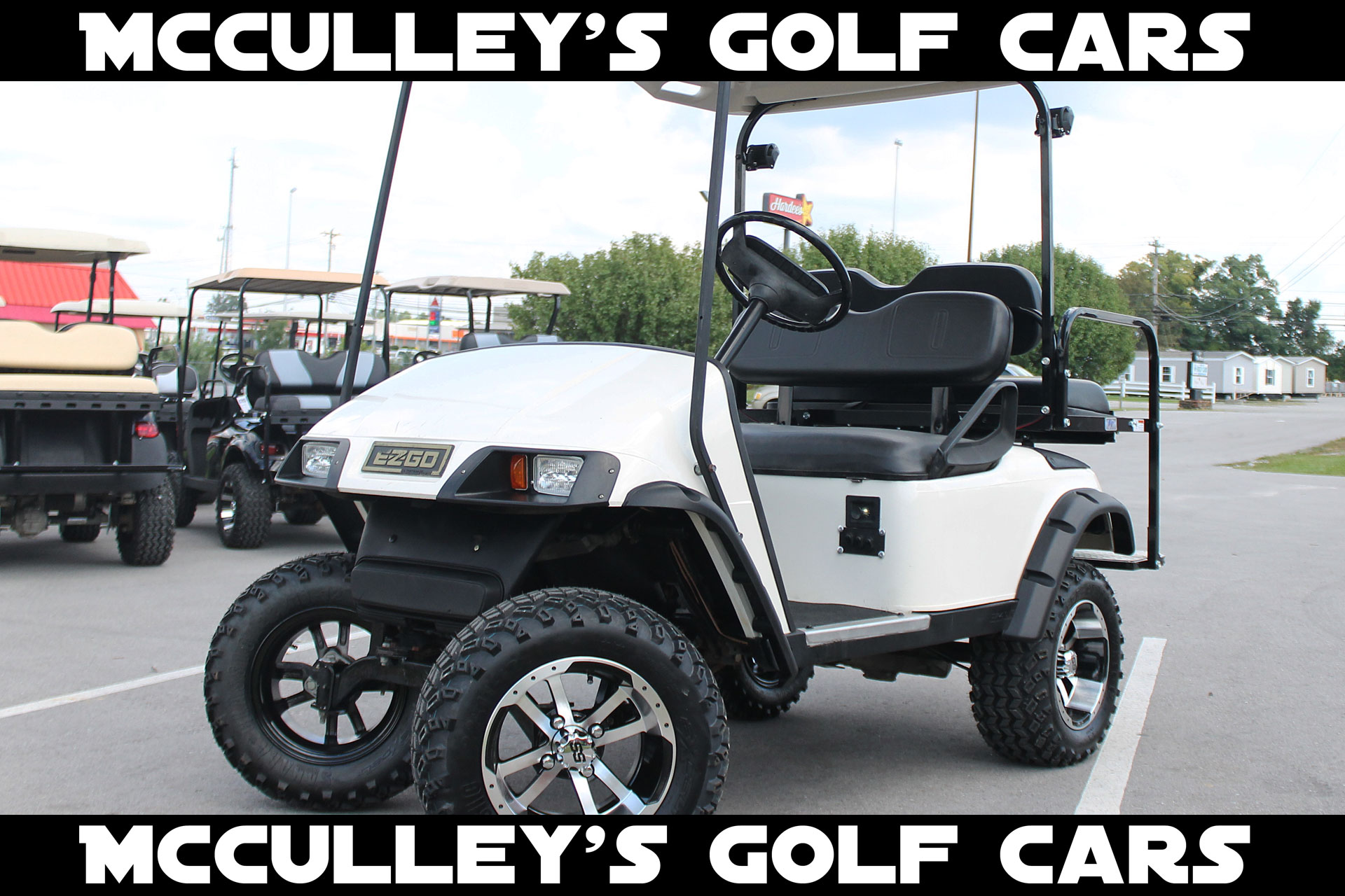 Lifted Gas Golf Cart EZGO TXT – McCulley's Golf Cars on phlebotomy carts, club car utility carts, lifted club cart, lifted trailers, wide wheels for carts, wicked carts, motorized lift carts, lift kits for club carts, jakes carts, lifted atvs, radical carts, columbia carts, eagle custom carts, ez go flatbed carts, lifted four wheelers, street-legal utility carts, king of carts, homemade fishing carts, heavy duty four wheel carts,