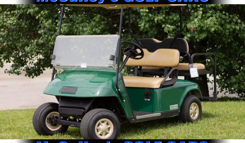 EZGO TXT 48 Volt Electric Golf Cart 2013 full
